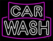 Double Stroke Car Wash LED Neon Sign