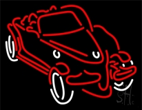 Red Car LED Neon Sign
