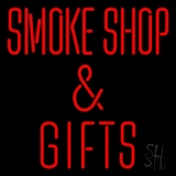 Smoke Shop And Gifts LED Neon Sign