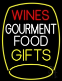 Wines Food Gifts LED Neon Sign