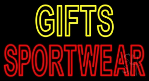 Yellow Gifts Red Sportswear LED Neon Sign