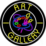 Art Gallery With Logo LED Neon Sign