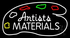 Artists Materials LED Neon Sign