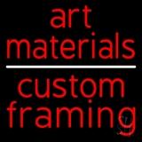 Art Materials Custom Framing LED Neon Sign