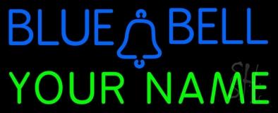 Custom Blue Bell LED Neon Sign