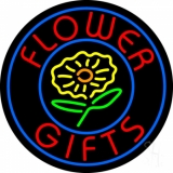 Flower Gifts In Block Logo LED Neon Sign