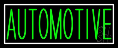 Green Automotive LED Neon Sign