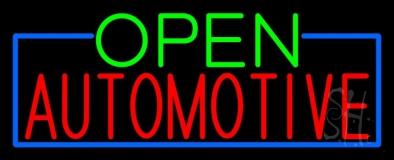 Open Automotive LED Neon Sign