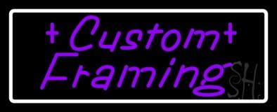 Purple Custom Framing LED Neon Sign