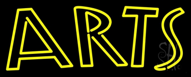 Yellow Arts LED Neon Sign