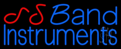 Blue Band Instruments 1 LED Neon Sign
