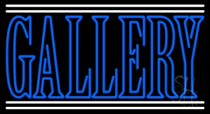 Blue Gallery LED Neon Sign