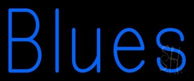Blues Block 1 LED Neon Sign