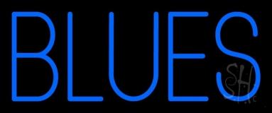 Blues Block LED Neon Sign