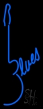 Blues Guitar 1 LED Neon Sign