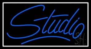 Blue Studio LED Neon Sign