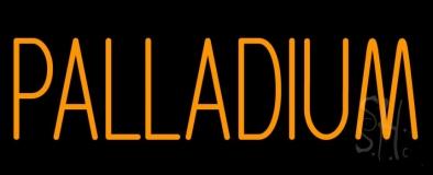 Orange Palladium LED Neon Sign