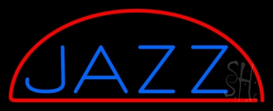 Blue Jazz 1 LED Neon Sign