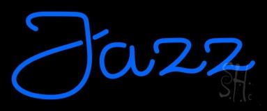 Blue Jazz 2 LED Neon Sign