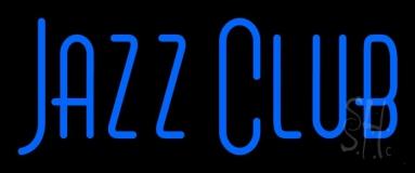 Blue Jazz Club Block 2 LED Neon Sign