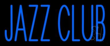Blue Jazz Club LED Neon Sign