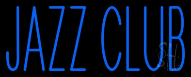 Jazz Club Blue LED Neon Sign