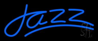 Blue Jazz Line 2 LED Neon Sign
