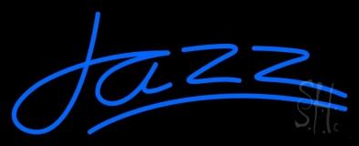 Blue Jazz Line LED Neon Sign