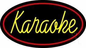 Karaoke Cursive 2 LED Neon Sign