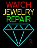 Watch Jewelry Repair With Logo LED Neon Sign