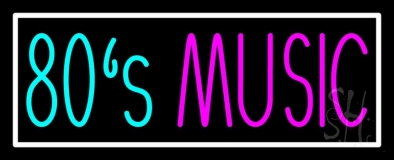 80s Music 1 LED Neon Sign