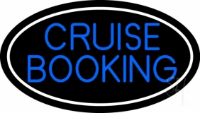 Blue Cruise Booking LED Neon Sign