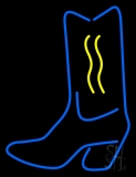 Cowboy Boot LED Neon Sign