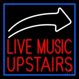 Live Music Upstairs 2 LED Neon Sign