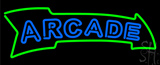 Blue Double Stroke Arcade LED Neon Sign