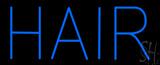 Blue Hair Block LED Neon Sign
