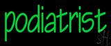 Green Podiatrist Neon Sign