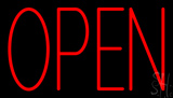 Red Open LED Neon Sign