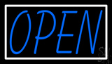 Red Open Fish Logo Flashing LED Neon Sign