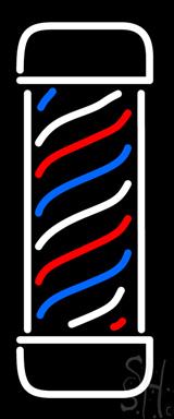 Vertical Barber Pole LED Neon Sign