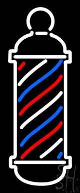 Barber Pole Logo LED Neon Sign